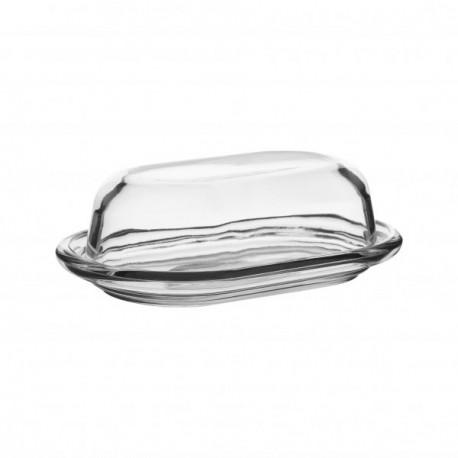 Масленка стеклянная с крышкой Basic (98402)