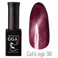 Гель лак Gga Professional Cat's Eye №038 10 мл
