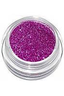 Блестки для ногтей Lidan в баночке, цвет - лиловый