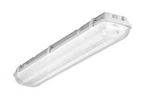 Корпус светильника ЛПП IP65 под LED лампы- 2х19