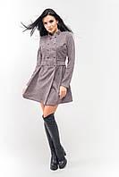 Платье демисезонное Селеста А1 розовое, фото 1