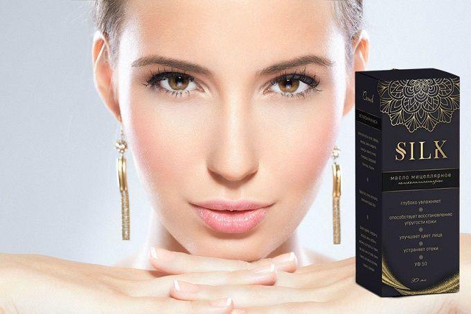 Silk мицеллярное масло против морщин