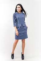 Сукня Джорджія А1 сіро-блакитне, фото 1