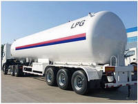 Полуприцеп для перевозки нефтяного газа Henan Jushixin