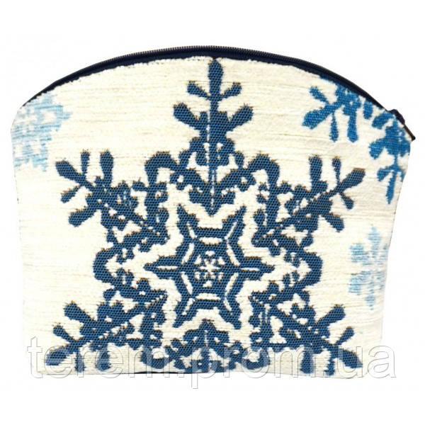 """Косметична сумка """"Сніжинки"""""""