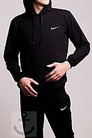 Мужская зимняя спортивная кофта Nike Black