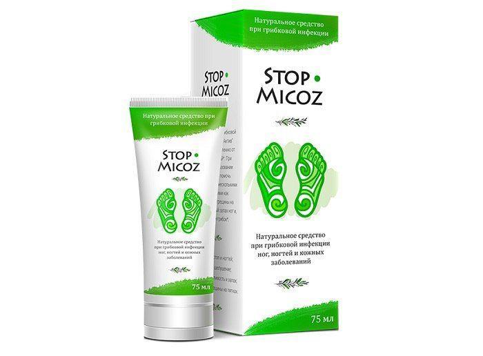 Stop-Micoz средство от зуда, грибков и трещин на ногах