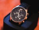 Наручные часы Emporio Armani / мужские часы / Стильные часы в стиле Эмпорио Армани Черный, men, фото 2