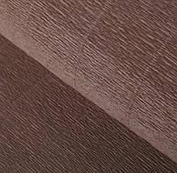 Бумага креп коричнево-серая 614 Италия