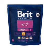 Корм Brit Premium Adult S 1 кг