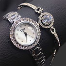 Часы в подарочной упаковке WATCH SET Dior / женские часы / ручные часы / наручные кварцевые часы, фото 2