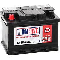 Аккумулятор Monbat D A66B2K0-1 12V 60Ah 560A L+