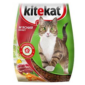 Корм Kitekat мясной банкет 1 кг