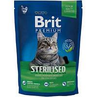 Корм Brit Premium Cat Sterilized 300 г