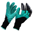 Садовые перчатки с когтями Garden Genie Gloves / Гарден Джени Гловес / перчатки / перчатки для сада и огорода, фото 2