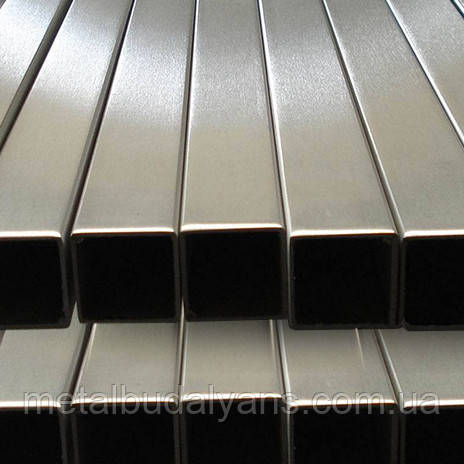 Труба нержавеющая профильная 60х60х1,5мм AISI 304