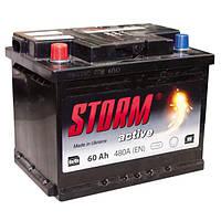 Аккумулятор Storm Active 6СТ-60Ah 480А СНГ