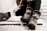 Зимние женские ботинки с натуральным мехом, фото 2