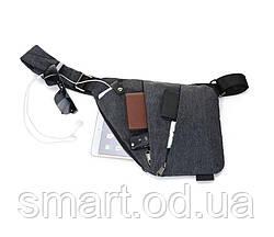 Мужская сумка - мессенджер Cross-Body / сумка через плечо кросс бодии реплика