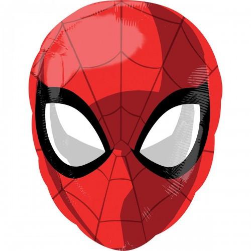 Шар Спайдермен Человек Паук голова 50 см