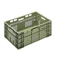 Ящик пластиковый Пласт-Бокс 2343.6500 600x400x230 мм