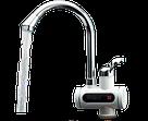 Проточный водонагреватель Delimano с экраном, кран мгновенного нагрева воды, бойлер в стиле Делимано боковое, фото 5