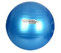 Мяч для фитнеса-65см MS 0982 (Синий)