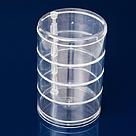 Компактный акриловый поворотный органайзер для косметики / подставка для косметики / косметик бокс / Оригинал, фото 2
