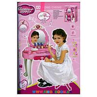 Туалетный столик для девочки (трюмо) «Прекрасная принцесса» (свет, музыка) 008-25