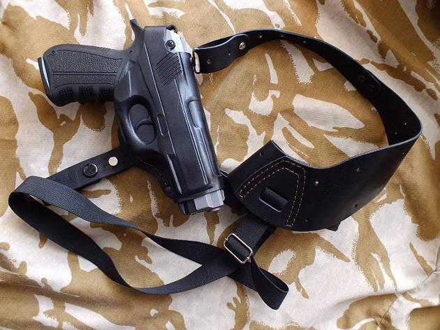 Кобура оперативна шкіряна З-11 для пістолетів, фото 2