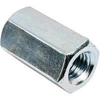 Гайка шестигранная высокая DIN 6334 М12 40 мм 2 шт