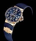 Часы в стиле Ulysse Nardin Marine / мужские часы / наручные часы / кварцевые часы, фото 4