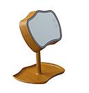 Косметическое зеркало с сенсорным экраном и подсветкой 2 в 1 Mirror Lamps / Настольная лампа / Светильник  Желтый, светильник, фото 2