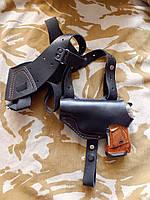 Кобура оперативная кожаная для пистолетов: Макарова и Stalker 914
