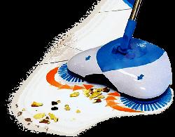 Механический веник Hurricane Spin Broom / Механическая щетка / Чудо-веник «Ураган»