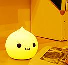 Уникальный детский ночник Капелька / 7 цветов / мягкий светильник / лампа, фото 3