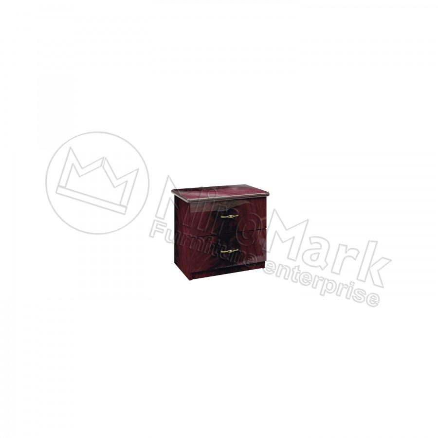 Тумба прикроватная Футура (2 ящика) Миро-Марк