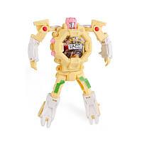 Детская игрушка Sunroz Robot Watch часы робот-трансформер Желтый