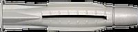 Дюбель трехраспорный универсальный 6х38 полиэтилен (1000шт)