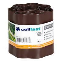Ограждение для газонов Cellfast 15x900 см коричневое