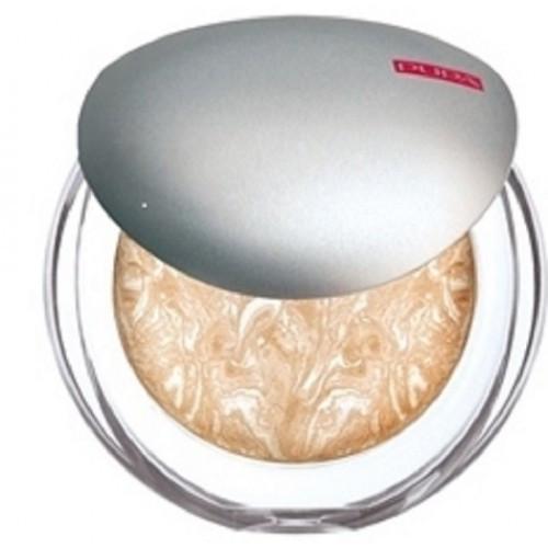 Пудра для лица компактная запеченная Luminys Silky Baked Face Powder 04 Champagne Pupa