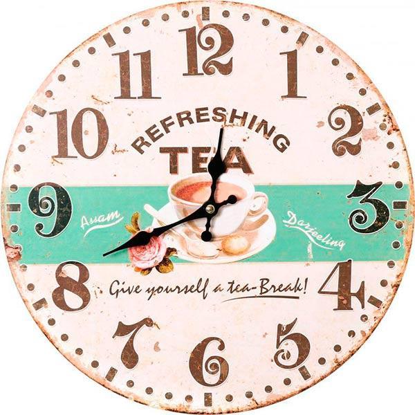 Часы настенные Tea time 33.8 см