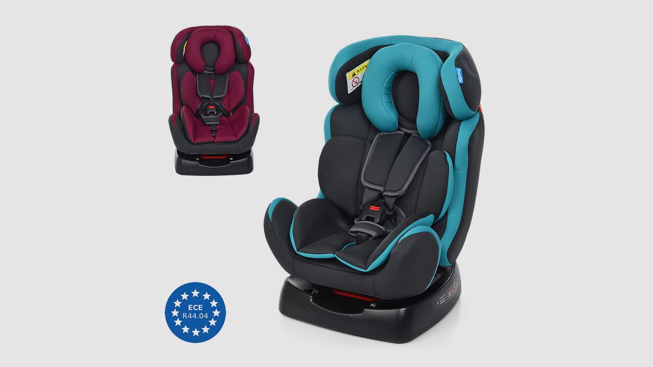 Автокресло детское BAMBI 3 положения спинки. 2 цвета(бордо или бирюзовый).