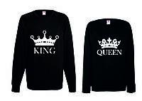 Парные свитшоты. Регланы King and Queen