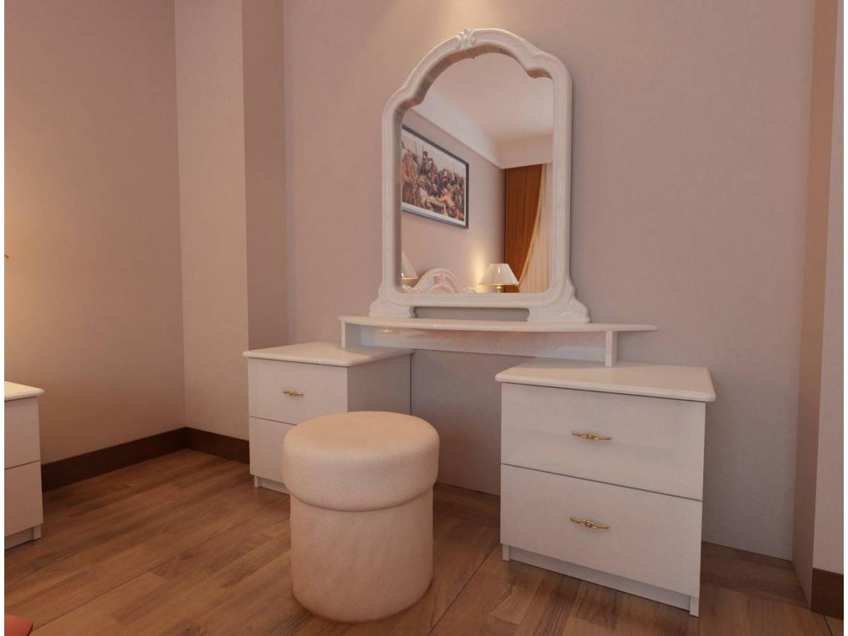 Столик туалетный Футура 4 ящика Миро-Марк
