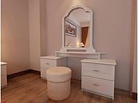 Столик туалетный Футура 4 ящика Миро-Марк, фото 1