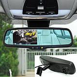 Зеркало с регистратором и камерой заднего вида Car DVR Mirror HD 1080p, фото 5