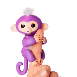 Игрушечная Обезьянка Прилипунцель + кукла LOL в подарок, фото 6
