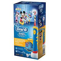 Электрическая зубная щетка Oral B Braun Stages Power   music timer