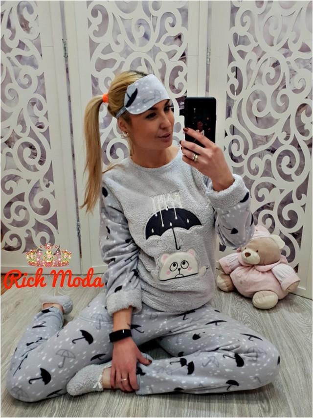 Махровая женская пижама на зиму Турция — купить недорого в Харькове ... ca658050994a5